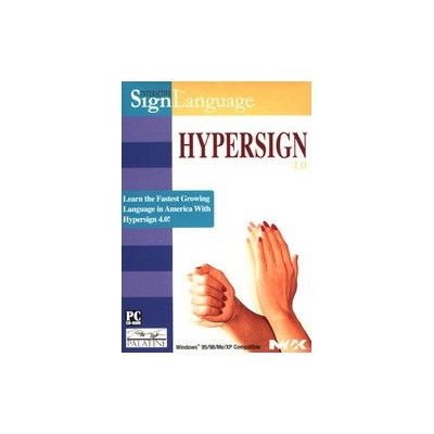 Hypersign 4.0 Dictionary of American Sign Language (輸入版)