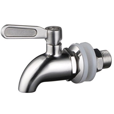 1 X Stainless WorksTM Stainless Steel Beverage Dispenser Replacement Spigot(Polished Finish) by...
