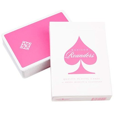 Ellusionist Madison Rounders Playing Cards, Pink - by Daniel Madison for