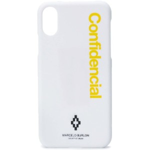 Marcelo Burlon County Of Milan Confidential iPhone X ケース - ホワイト