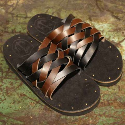 """DRESS HIPPY""""LEATHER SANDAL""""model:MEXICOMIX【DRESS HIPPY】(ドレスヒッピー)正規取扱店(Official Dealer)Cannon Ball..."""