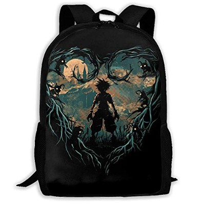 Ericba リュックサック Kingdom Hearts キングダムハーツ 双肩バッグ バックパック Schoolbag For Mens And Womens 大容量 通学 中学生かばん...