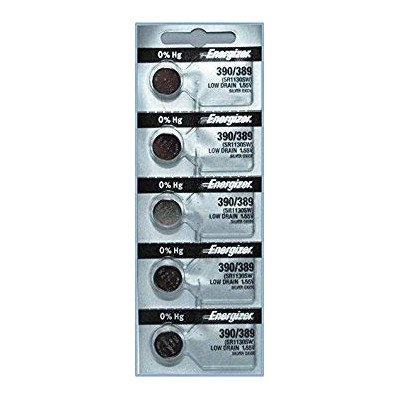 Energizer 390/389 Silver Oxide Cd/5 by Energizer