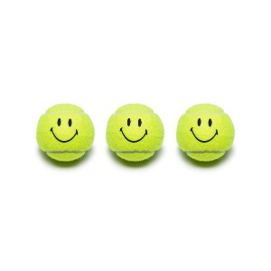 Chinatown Market Smiley Face テニスボールセット - MULTICOLOURED