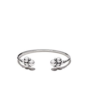 Georg Jensen Moonlight Grapes カフブレスレット - SILVER