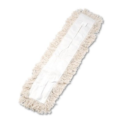 Unisan - Industrial Dust Mop Head, Hygrade Cotton, 36w x 5d - White by MegaDeal