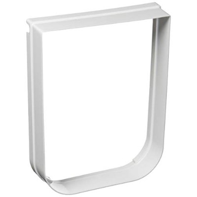 Trixie Pet Products Tunnel Extender for Electromagnetic 4-Way Locking Cat Door, White by TRIXIE Pet...