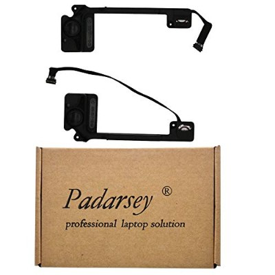"""Padarsey Replacement Internal Left and Right Speaker Fit for MacBook Pro 13"""" Retina A1502 2013 2014..."""