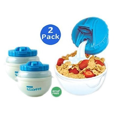 Stay Fit DLX Cereal to Go, EZ Freeze by Cool Gear Stay-Fit