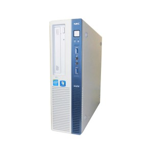 Windows7 NEC Mate MK28EB-J (PC-MK28EBZCJ) Celeron G1840 2.8GHz/2GB/500GB/DVD-ROM/中古パソコン/デスクトップ/本体のみ