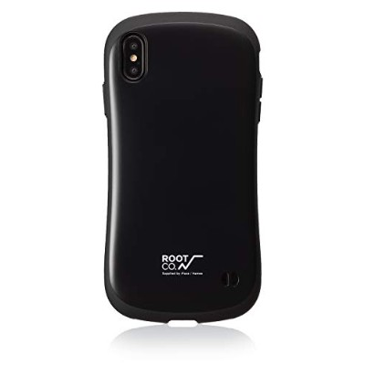 【ROOT CO.】iPhoneXS Max ケース Gravity Shock Resist Case. /ROOT CO.×iFace Model(ブラック)