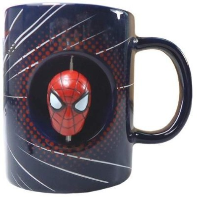 Westland Giftware Spider-Man Stoneware Spinner Mug, 12 oz, Multicolor by Westland Giftware