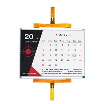 GooDisplay 12.48 inch Large ePaper大型電子ペーパーディスプレイColor E-Paper E ink Screen Electronic Paper Display...