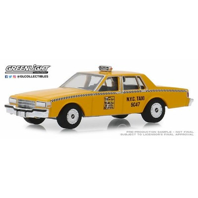 1/64 1987 Chevrolet Caprice New York City Taxi Cab[グリーンライト]《11月仮予約》