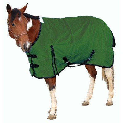 Royal Hamilton WB-1200D-HG-L Turnout Horse Blanket Hunter Green with Black Trim, 81-Inch, Large by...