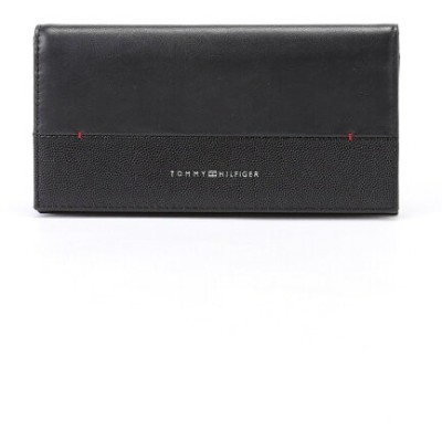 【SALE/50%OFF】TOMMY HILFIGER TOMMY HILFIGER(トミーヒルフィガー) TH BUSINESS INT LONG WALLET 長財布 サイフ ウォレット メンズ...