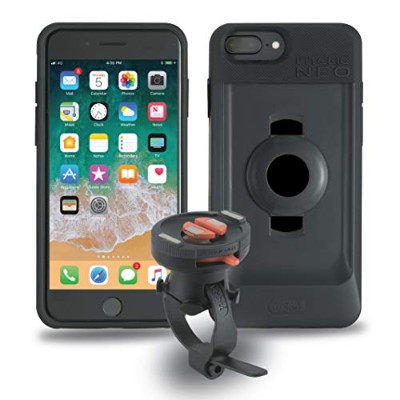 TiGRA Sport 自転車 スマホ ホルダー iPhone8 Plus iPhone7 Plus iPhone6s Plus スマホホルダー バイク FitClic Neo BIKE KIT...