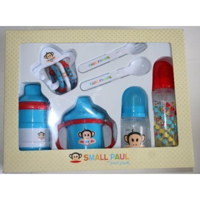 Small Paul Infant Feeding Gift Set by Small Paul by Paul Frank