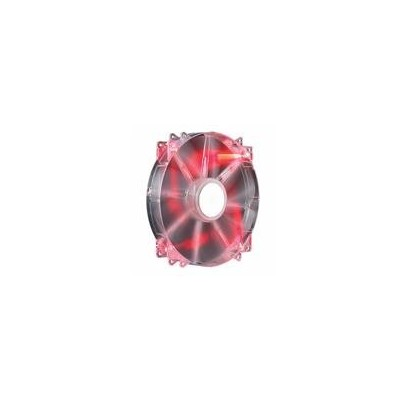 Cooler Master MegaFlow 200 Red LED, Silent Fan ケースファン 日本正規代理店品 R4-LUS-07AR-GP