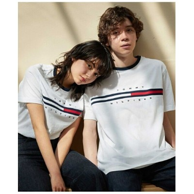 TOMMY HILFIGER TOMMY HILFIGER(トミーヒルフィガー) ロゴTシャツ/TINO TEE ロゴ Tee カットソー 半袖 Tシャツ メンズ トミーヒルフィガー カットソー...
