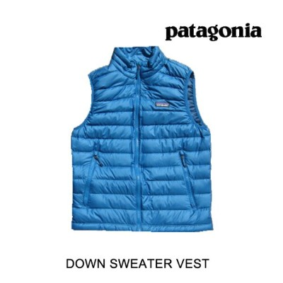 PATAGONIA パタゴニア ダウンベスト DOWN SWEATER VEST BALB BALKAN BLUE