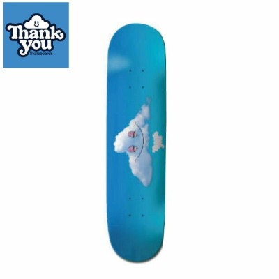 【THANK YOU SKATEBOARDS】サンキュースケートボード Head in the Clouds Deck スケートボード デッキ 板 7.75インチ