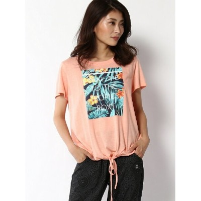 【SALE/50%OFF】ROXY (W)TAKE ME TO THE TROPI ロキシー カットソー Tシャツ オレンジ