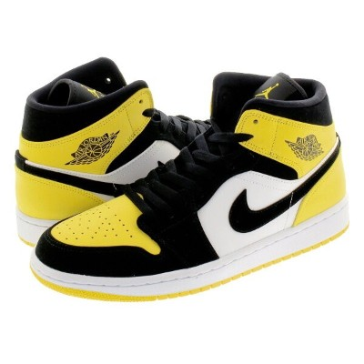 NIKE AIR JORDAN 1 MID SE ナイキ エア ジョーダン 1 ミッド SE BLACK/BLACK/TOUR YELLOW/WHITE 852542-071