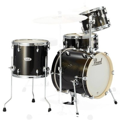 Pearl MDT764P/C #701 Black Gold Sparkle パール MIDTOWN 16BD 小口径シェルキット 【お取り寄せ商品】