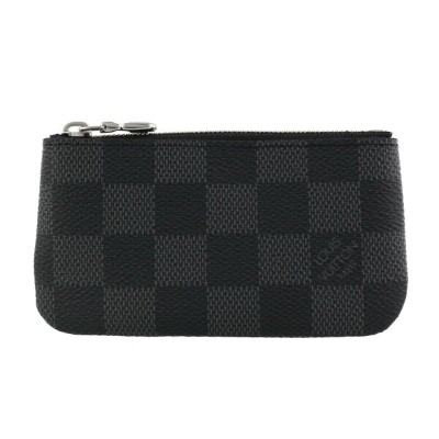 LOUIS VUITTON ルイヴィトン コインケース メンズ ダミエ グラフィット ポシェット クレ N60155