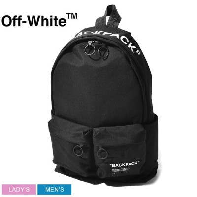 【SALE★最大400円OFFクーポン】送料無料 OFFWHITE オフホワイト バックパック クォートバックパック QUOTE BACKPACK OMNB003S1907 メンズ レディース...