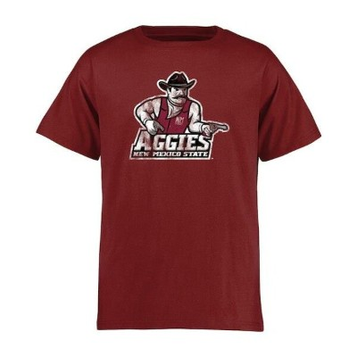 New Mexico State Aggies Youth Maroon Classic Primary T-Shirt キッズ