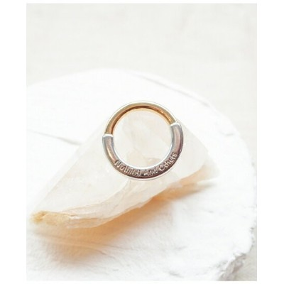 【SALE/40%OFF】Nothing And Others NothingAndOthers/Combi Ring ナッシングアンドアザーズ アクセサリー リング シルバー【送料無料】