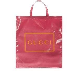 Gucci Gucci プリント トートバッグ M - ピンク