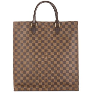 Louis Vuitton Pre-Owned サック・プラ ダミエ トートバッグ - ブラウン