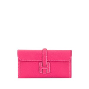 Hermès Pre-Owned ジジェ H ロゴ クラッチバッグ - ピンク