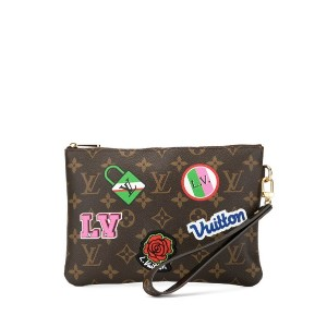 Louis Vuitton Pre-Owned シティ クラッチバッグ - ブラウン