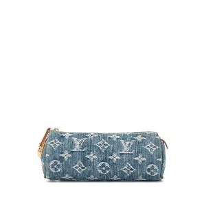 Louis Vuitton Pre-Owned Trousse Speedy GM ポーチ - ブルー