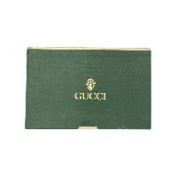 Gucci Pre-Owned トランプカード セット - グリーン