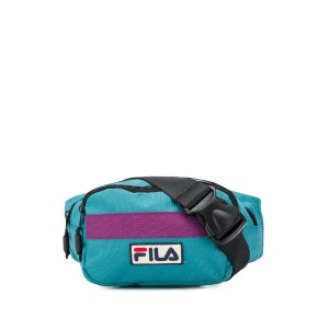 Fila logo belt bag - ブルー