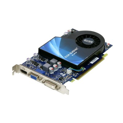 ELSA GeForce GT240 512MB HDMI/VGA/DVI PCI Express x16 GD240-512EBSP【中古】