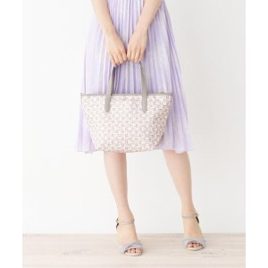 【passage mignon(パサージュ ミニョン)】 モノグラムプリントランチトート OUTLET > passage mignon > バッグ・財布・小物入れ > トートバッグ ピンク