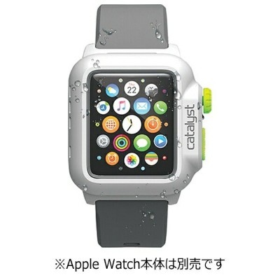トリニティ Trinity カタリスト Apple Watch 42mm用 完全防水ケース CT-WPAW15-WTGR White Green[CTWPAW15WTGR]