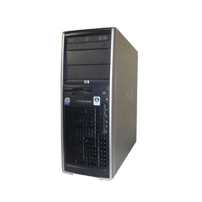 WindowsXP Pro 32bit 中古ワークステーション HP WorkStation XW4600 RV724AV Core2Quad Q6700 2.66GHz 4GB 300GB×2 ...