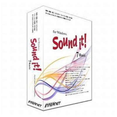 インターネット Sound it! 7 Basic for Windows SIT70W-BS
