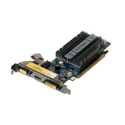 ZOTAC GeForce 210 Synergy Edition 512MB VGA/HDMI/DVI PCI Express 2.0 x16 ZT-20309【中古】