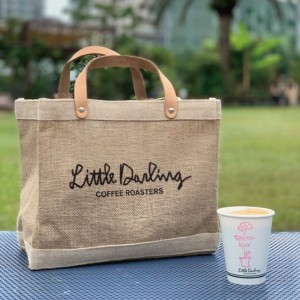 【アポリス(APOLIS)】 APOLIS + Little Darling Coffee Roasters ランチバッグ ベージュ