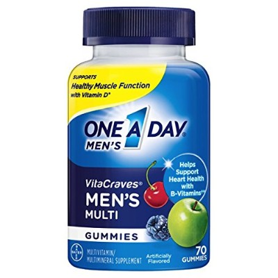 One A Day Men's Vitacraves, 70 Count by One-A-Day