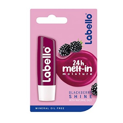 Labello ブラックベリー輝くリップクリーム - Labello Blackberry Shine Lip Balm 4,8g/5.5ml