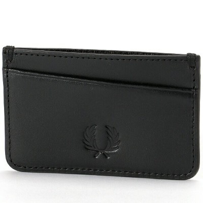 【19SS】LEATHER CARD HOLDER/フレッドペリー(雑貨)(FRED PERRY)